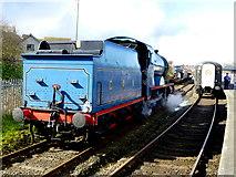 J4792 : Steam Locomotive No.85, Whitehead by Kenneth  Allen