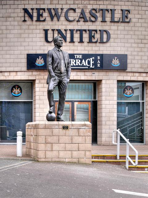 Sir Bobby Robson Statue at St James' park