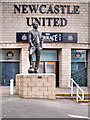 NZ2464 : Sir Bobby Robson Statue at St James' park by David Dixon