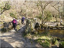 SX7780 : Bridge over River Bovey by David Smith