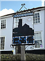 TM1354 : Coddenham Village sign by Adrian Cable