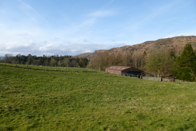 Barn near Ayside
