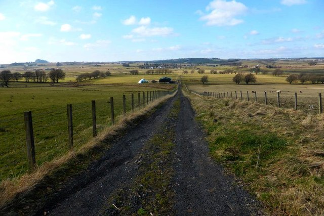New farm buildings opposite East Dykenook