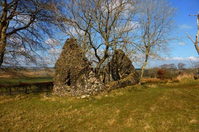 Derelict croft near Syde
