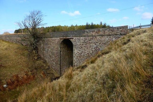 Bridge over Hall's Burn