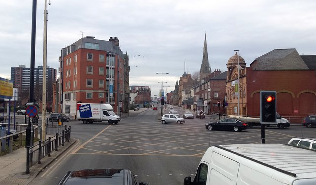 Chapel Street/Trinity Way junction