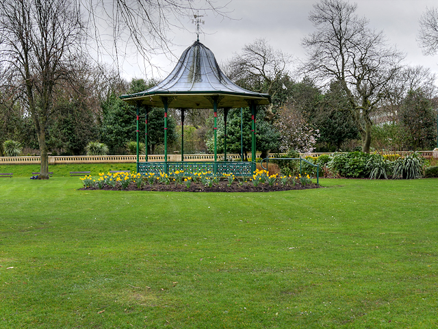 Bandstand in Mowbray Park