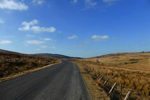 Strathaven, Muirkirk road B743