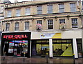 ST3088 : S A Cutler and Efes Grill, Cambrian Road, Newport by Jaggery