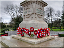 NZ3956 : Sunderland War Memorial Plinth by David Dixon
