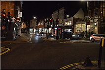 TQ1649 : West St, High St junction by N Chadwick