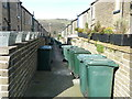 SE1337 : Saltaire back alley  by Graham Hogg