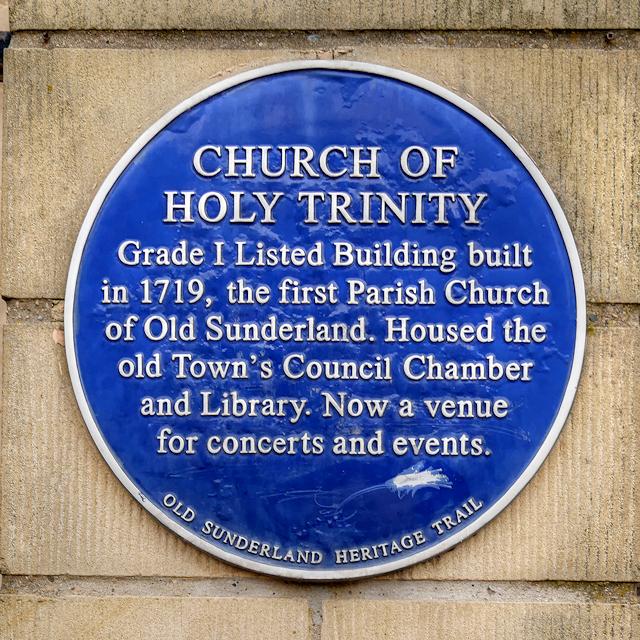 Heritage Plaque, Holy Trinity Church