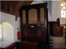 SU3477 : St James, Eastbury: organ by Basher Eyre
