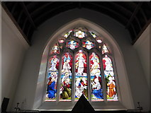 SU3477 : St James, Eastbury: stained glass window (b) by Basher Eyre