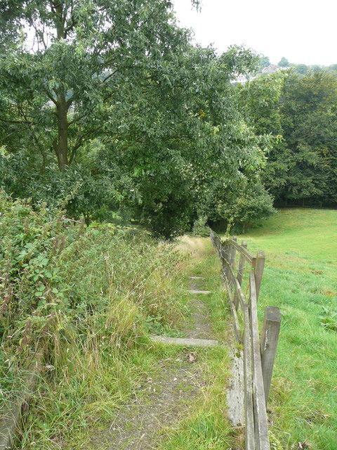 Permissive bridleway off Long Lane, Norland