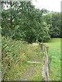SE0522 : Permissive bridleway off Long Lane, Norland by Humphrey Bolton