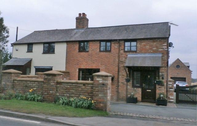 Houses on Shrewsbury Road