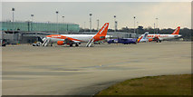 TL5523 : Airside at Stansted by Thomas Nugent