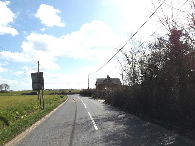 B1078 Ashbocking Road, Ashbocking