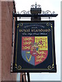 TF4608 : The Royal Standard (Sign) - Public Houses, Inns and Taverns of Wisbech by Richard Humphrey