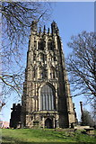 SJ3350 : St Giles' Church, Wrexham by Jeff Buck