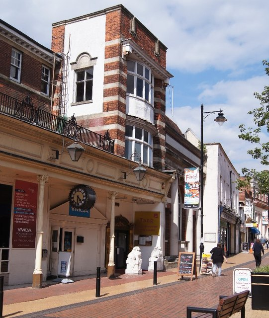 YMCA shop - Winchester Street