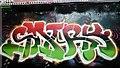 TQ3079 : Street Art, Leake Street by PAUL FARMER