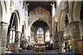 SJ3350 : Nave and Chancel of St Giles' Church, Wrexham by Jeff Buck