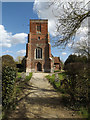 TM1654 : All Saints Church, Ashbocking by Adrian Cable