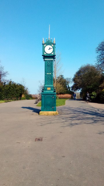 Tritton Clock in Brockwell Park