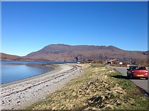 NH1098 : Across Loch Kanaird by Dave Thompson