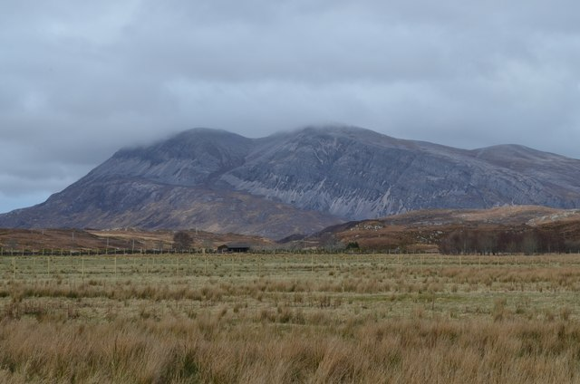 Arkle viewed from Achfary, Sutherland