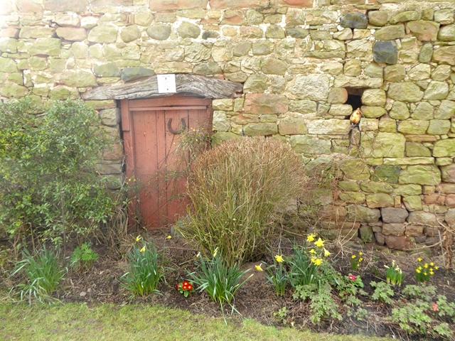 Wayside wall in Knock