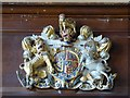 SP2049 : Royal Coat of Arms by Philip Halling