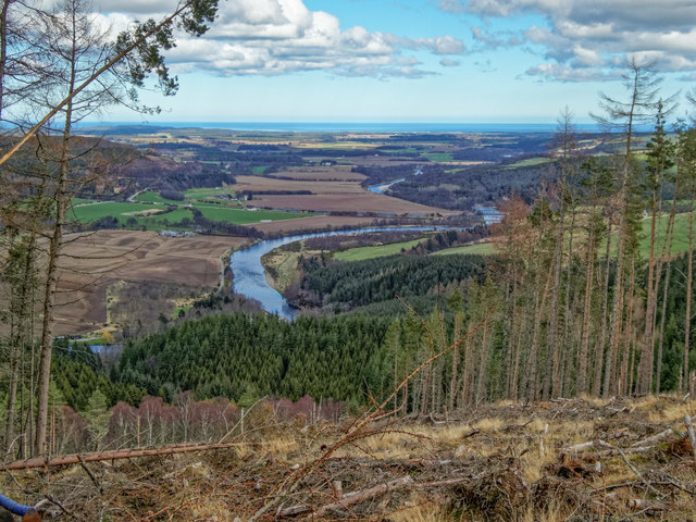 View from the Speyside Way