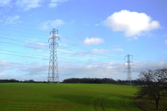 Two pylons