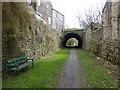 SK0180 : Trackbed of the Cromford and High Peak Railway by Raymond Knapman