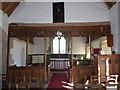 SP0254 : Inside St Peter, Abbots Morton (v) by Basher Eyre