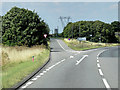 SK6286 : Northbound A1, Exit for A634 towards Blyth by David Dixon