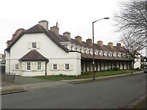 SJ3384 : Terraced cottages, Lower Road, Port Sunlight by Graham Robson