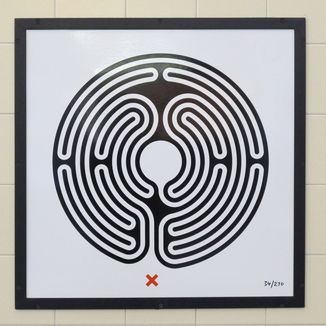 Uxbridge tube station - Labyrinth 34