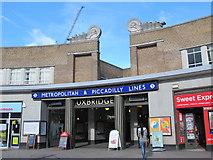 TQ0584 : Uxbridge tube station - entrance by Mike Quinn