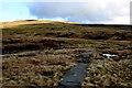 SD8494 : Pennine Way crossing Black Hill Moss by Chris Heaton