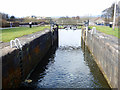 NS5669 : The Forth and Clyde Canal at Maryhill by Thomas Nugent