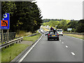 SK6480 : A1 Northbound near to Ranby by David Dixon