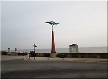 TA2047 : Trans  Pennine  Trail  at  Hornsea  sea  front by Martin Dawes