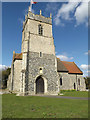 TM1555 : St.Mary's Church, Gosbeck by Geographer