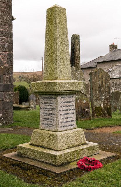War Memorial, Bewcastle