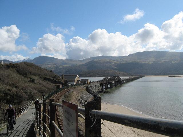 National Cycle Network route 8-Barmouth Bridge, Gwynedd